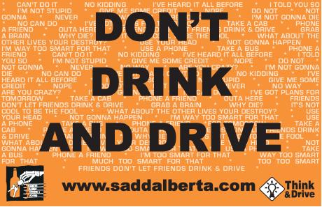 Don't Drink and Drive Poster