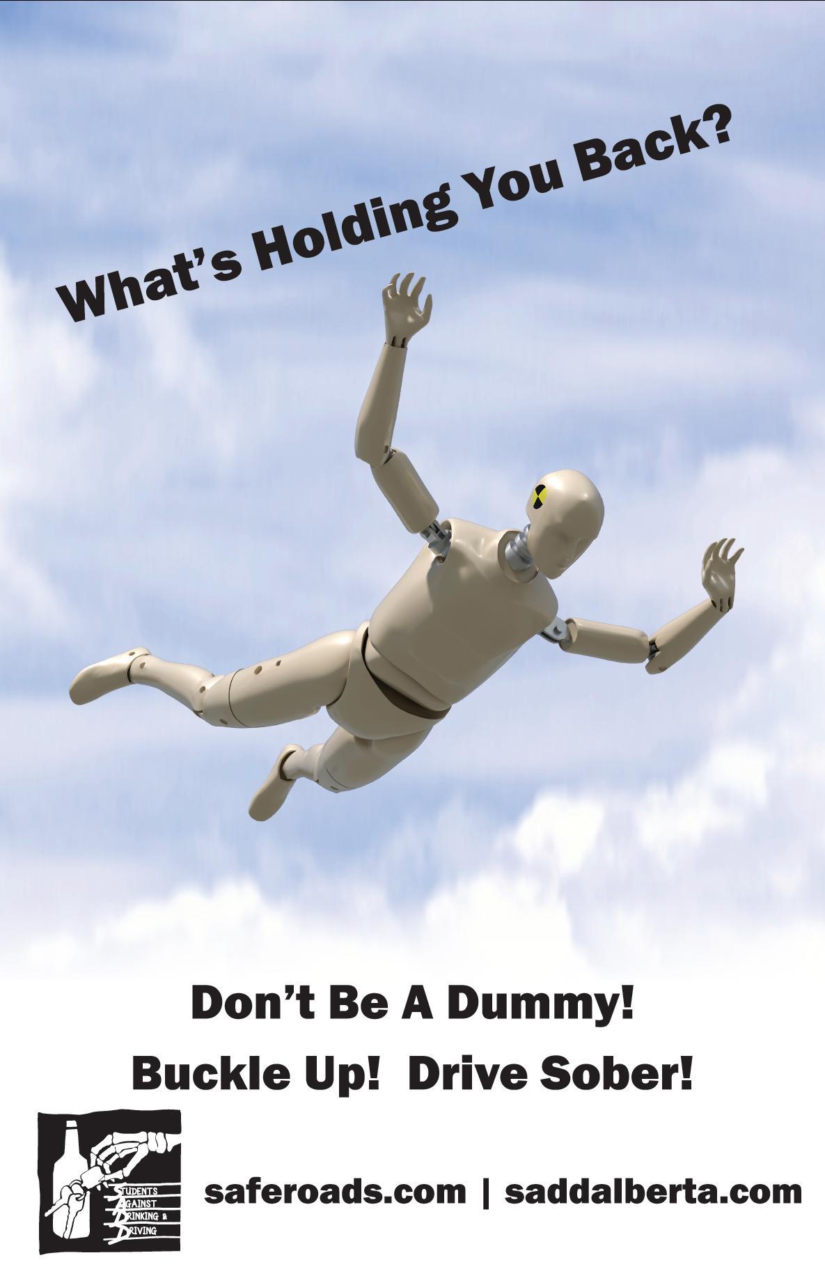 Dummy - Seatbelt Poster #2
