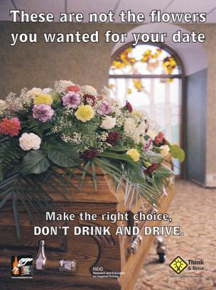 Grad Flowers Poster